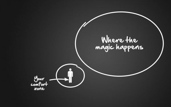 Cum să treci dintr-o zonă de confort în alta?